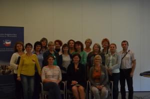 Удзельнікі школы ментараў-2014
